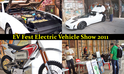 EV Fest Electric Vehicle Show 2011 quick Sample images