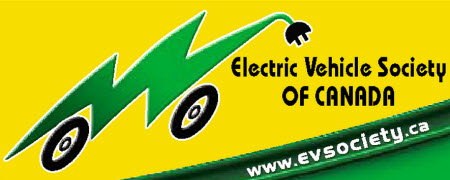 Electric Vehicle Society of Canada - Logo