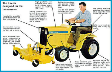 The Tractor Design for the Home Owner!