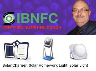Ron will be offering and Presenting Monavie Products, and also Solar Chargers and Lights!