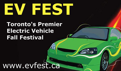 See Electric Vehicles up close! Come To EV Fest - October 17, 2010! (Toyota-Lexus On The Park), Toronto